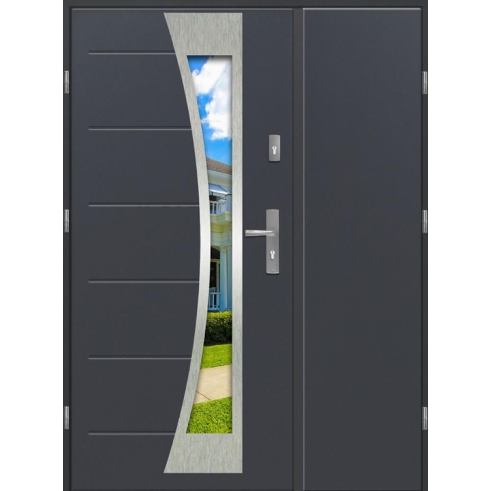 Niesamowite Drzwi Zewnętrzne Dwuskrzydłowe PREMIUM 2 lux DUO LX67